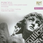 Henry Purcell - Funeral Music For Queen Mary Anthems cd musicale di Purcell