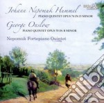 Hummel Johann Nepomuk - Quintetto Per Pianoforte In Re Minore cd musicale di Hummel johann nepomu