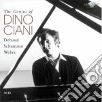 The genius of dino ciani cd musicale di Weber carl maria von