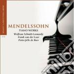 Piano works cd musicale di Felix Mendelssohn