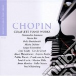Complete piano works cd musicale di Fryderyk Chopin