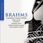 Complete piano works cd musicale di Johannes Brahms