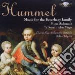 Hummel - Music For The Esterhazy Family cd musicale di Hummel johann nepomu