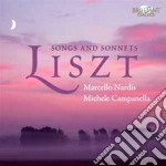 Songs and sonnets cd musicale di Franz Liszt