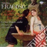 Complete chamber music for violin cd musicale di Fragoso antonio de l