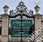 Divertimenti for baryton trio cd musicale di Andreas Lidl