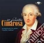 30 sonatas arrangements for guitar cd musicale di Domenico Cimarosa