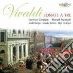 Vivaldi Antonio - Sonate A Tre cd musicale di Antonio Vivaldi