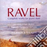 Complete works for piano duet cd musicale di Maurice Ravel