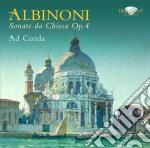 Albinoni Tomaso Giovanni - Sonate Da Chiesa Op.4 cd musicale di Albinoni tomaso giov