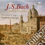 Italian concertos cd musicale di Johann Sebastian Bach