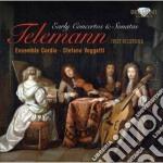 Telemann Georg Philip - Concerti E Sonate Giovanili cd musicale di Telemann georg phili