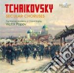 Ciaikovski Pyotr Il'ych - Cori Profani cd musicale di Ciaikovski pyotr il'