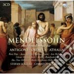 Incidental music for antigone oedipus at cd musicale di Felix Mendelssohn