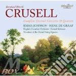 Complete clarinet concertos & quartets cd musicale di Crusell bernhard hen