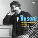 Fantasia contrappuntistica elegies cd musicale di Ferruccio Busoni