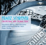 Orchestral and choral music cd musicale di Franz Schreker