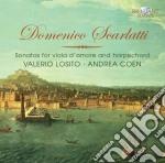 Scarlatti Domenico - Sonate Per Viola D'amore E Clavicembalo cd musicale di Domenico Scarlatti