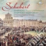 Schubert Franz - Sinfonie Nn.8 E 9 cd musicale di Franz Schubert