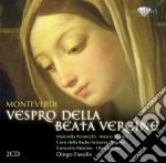 Vespro della beata vergine cd musicale di Claudio Monteverdi