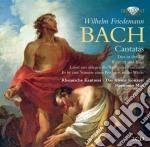 Cantatas cd musicale di Bach wilhelm friedma
