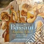 Complete sonatas op. 5 cd musicale di Bassani giovanni bat