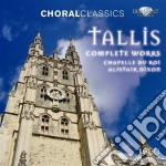 Complete choral works cd musicale di Thomas Tallis