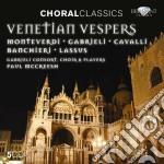 Venetian vespers cd musicale di Miscellanee