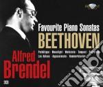 Alfred brendel favourite piano sonatas cd musicale di Beethoven ludwig van