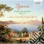 Quartetti per archi (nn.1-3) cd musicale di Niccolo' Paganini