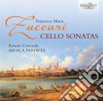 Francesco Maria Zuccari - Sonate Per Violoncello cd musicale di Zuccari francesco ma
