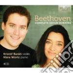 Integrale delle sonate per violino cd musicale di Beethoven ludwig van