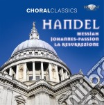 Il messia, passione secondo giovanni, la cd musicale di Handel georg friedri