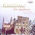Late symphonies cd musicale di Giuseppe Sammartini
