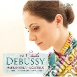 12 etudes cd musicale di Claude Debussy