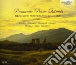 Romantic piano quintets cd musicale di Miscellanee