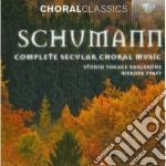 Integrale della musica corale profana cd musicale di Robert Schumann