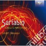 Integrale delle sonate per pianoforte cd musicale di Alexandre Scriabin