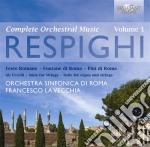 Integrale delle opere per orchestra, vol cd musicale di Ottorino Respighi