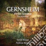 Sonate per violino cd musicale di Friedrich Gernsheim