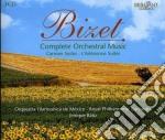 Integrale della musica per orchestra cd musicale di Georges Bizet