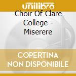 Miserere cd musicale