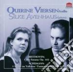 Beethoven Ludwig Van / Schumann Robert - Sonata Per Violoncello Op.102  - Avenhaus Silke  Pf/quirine Viersen, Violoncello. cd musicale di Beethoven ludwig van