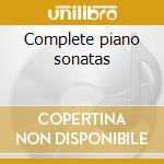Complete piano sonatas cd musicale