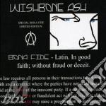 BONA FIDE cd musicale di WISHBONE ASH