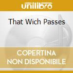 THAT WICH PASSES cd musicale di Robert Fripp