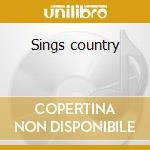 Sings country cd musicale di Spears billie joe