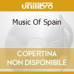 The most popular music of spain cd musicale di Artisti Vari