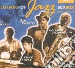 Mulligan/blakey/hampton/webster/hawkins - Legends Of Jazz 5cd cd musicale di Artisti Vari