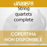 String quartets complete cd musicale